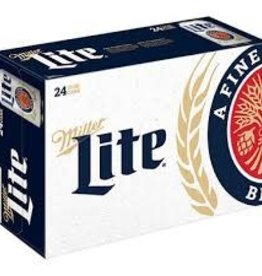 Miller Lite 24 can