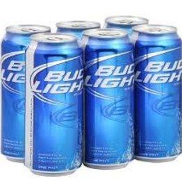 Bud Light 16oz 6 can