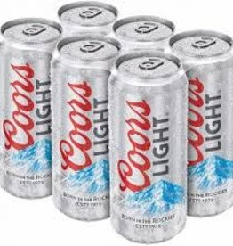 Coors Light 16oz 6 can