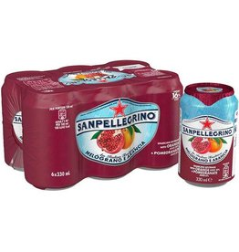 San Pellegrino Pomegranate & Orange 6 can