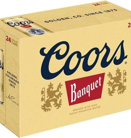 Coors Banquet 24 can