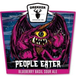 Drekker People Eater Blueberry Basil Sour 4 can