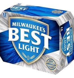 Milwaukee's Best Light 12 can