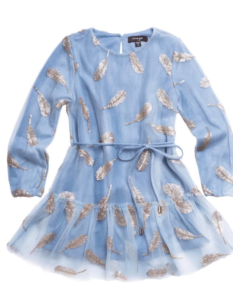 IMOGA IMOGA POLLY DRESS WITH BELT