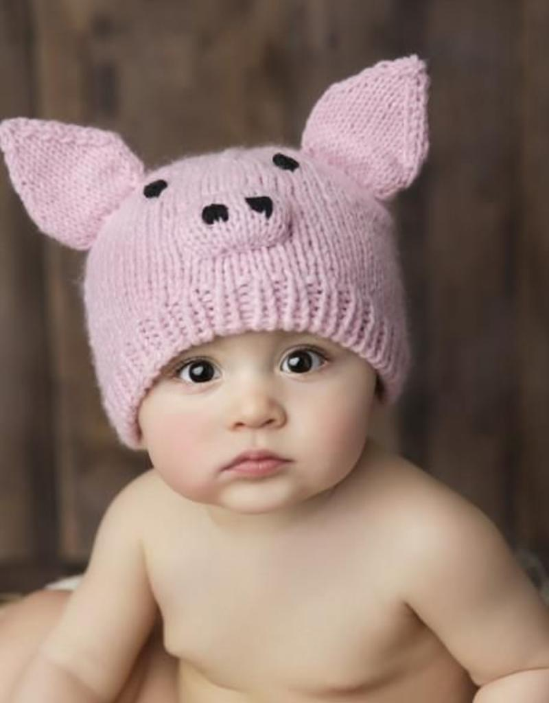 THE BLUEBERRY HILL THE BLUEBERRY HILL SAMMIE PIG HAT