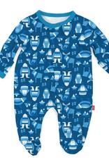 MAGNIFICENT BABY MAGNIFICENT BABY  YETI SET GO MODAL FOOTIE