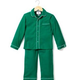 PETITE PLUME CLASSIC FLANNEL PJS W/ PIPING