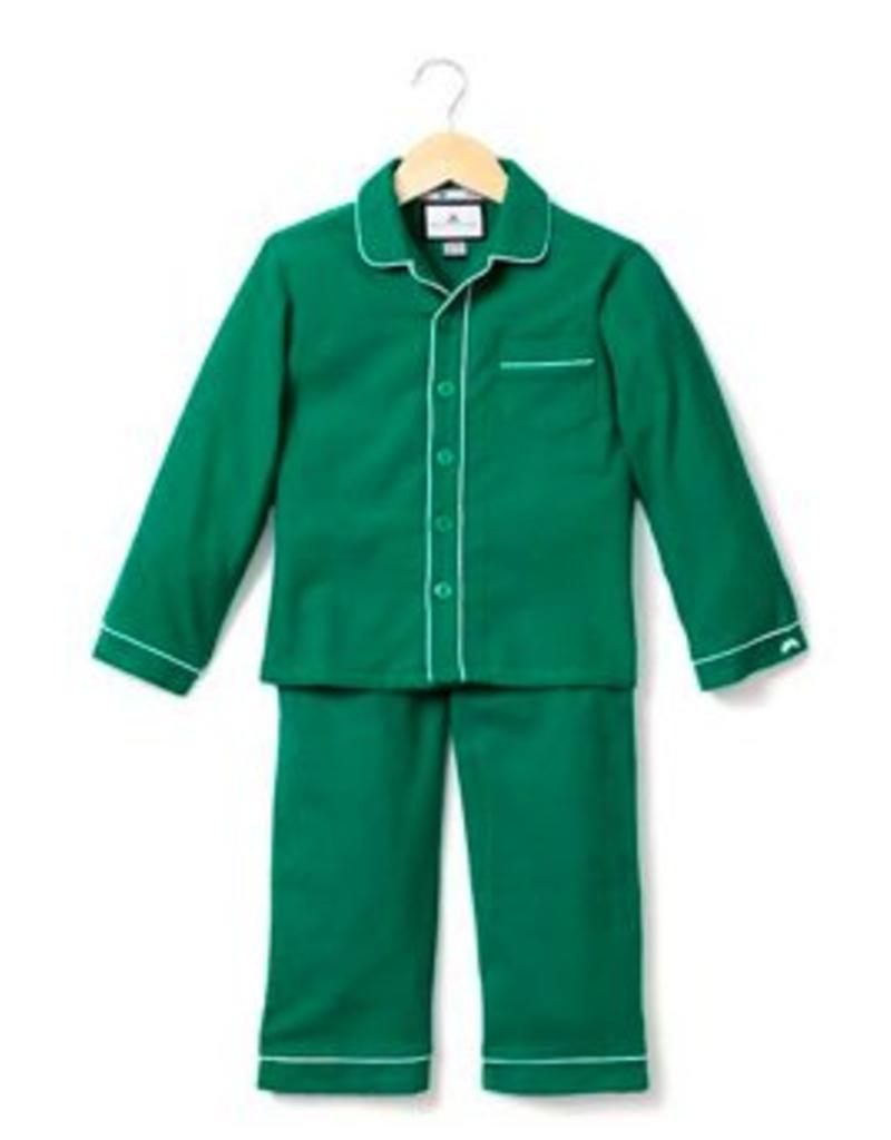 PETITE PLUME PETITE PLUME CLASSIC FLANNEL PJS W/PIPING