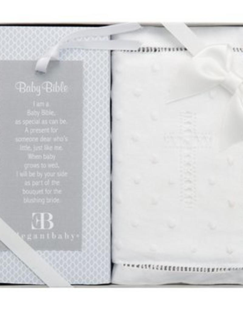 ELEGANT BABY ELEGANT BABY EMBROIDERED COVERED BIBLE