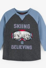 HATLEY HATLEY SKIING IS BELIEVING T-SHIRT