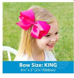 wee ones KING SIZE GROSGRAIN BOW