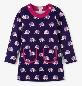 HATLEY CUTE ELEPHANTS MOD DRESS