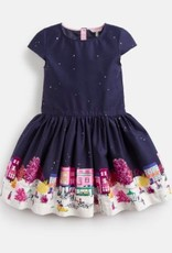 JOULES JOULES AMIA BORDER PARTY DRESS