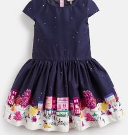 JOULES AMIA BORDER PARTY DRESS