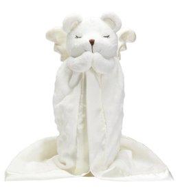 ELEGANT BABY PRAYER BEAR BLANKIE