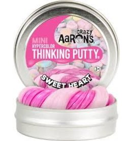 """Crazy Aaron Putty Sweetheart  2"""" Hypercolor Bright Magenta that changes pale Pink"""
