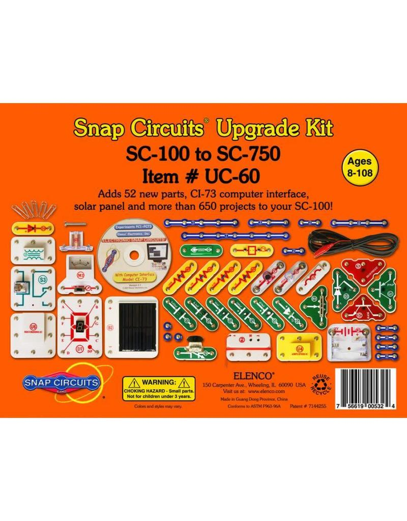 Snap Circuits Upgrade Kit Uc 60 Pow Science Llc Elenco