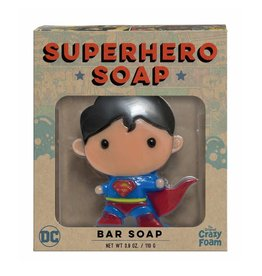 Crazy Foam Crazy Foam Superhero Bar Soap Superman