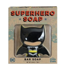 Crazy Foam Crazy Foam Superhero Bar Soap Batman