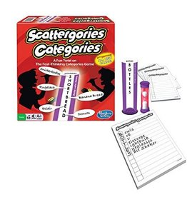 Winning Moves The Game of Scattergories Categories