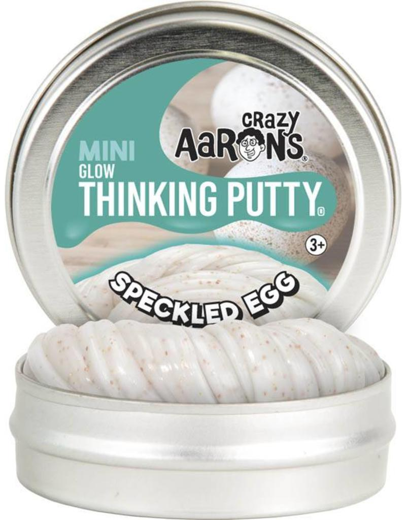 Crazy Aaron Putty Speckled Egg Glow Thinking Putty
