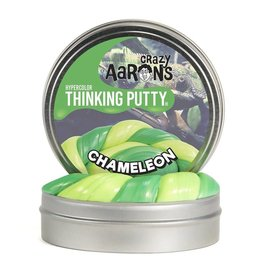 "Crazy Aaron Putty Crazy Aaron's Thinking Putty - Chameleon Hypercolor Thinking Putty 4"" Tin"