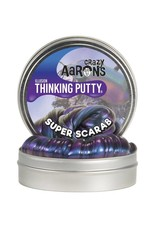 "Crazy Aaron Putty Crazy Aaron's Illusion Thinking Putty - Super Scarab 4"" Tin"
