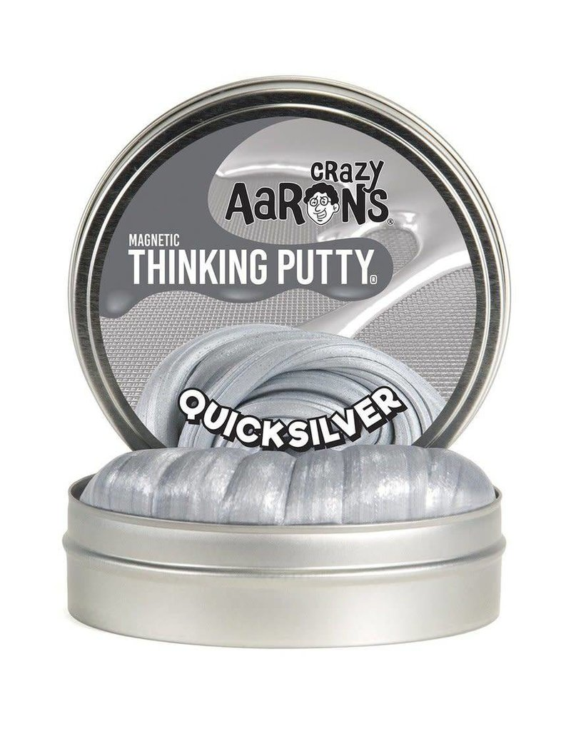 Crazy Aaron Putty Crazy Aaron's Magnetic Thinking Putty - Quicksilver Magnetic
