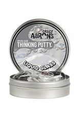 Crazy Aaron Putty Crazy Aaron's Liquid Glass Crystal Clear Thinking Putty