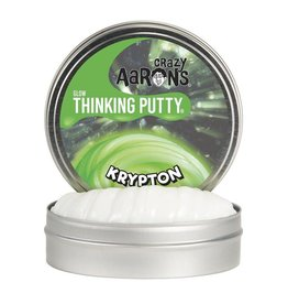 "Crazy Aaron Putty Crazy Aaron's Thinking Putty - Krypton 4"" Tin"