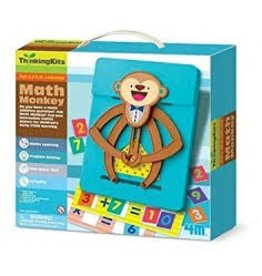 Toy Smith Math Monkey