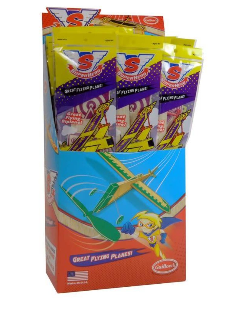 Guillow's Sky Streak Airplanes - Purple