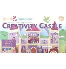Buid&Imagine Build & Imagine Magnetic Building Set Creativity Castle