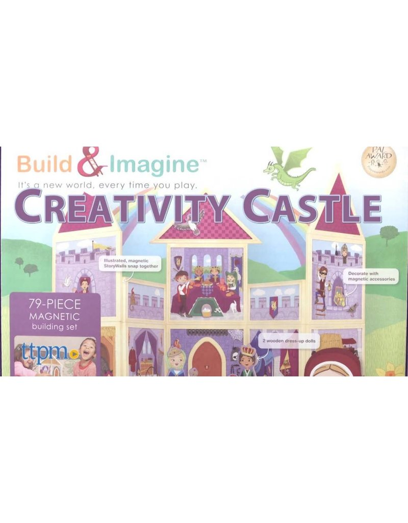 Buid&Imagine Build & Imagine Magnetic Building Set Creativity Castle