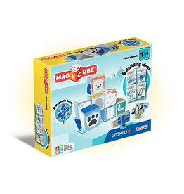 Geomag Magicube Magnetic Polar Animal Blocks