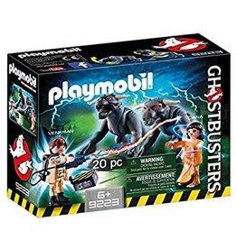 Playmobile Venkman and Terror Dogs
