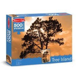 Melissa & Doug Tree Island Puzzle 500pc.