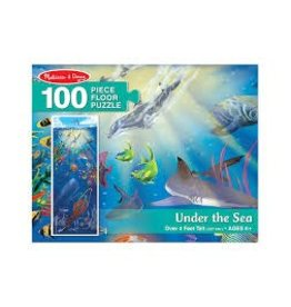 Melissa & Doug Under the Sea Floor Puzzle