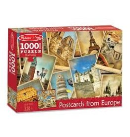 Melissa & Doug Postcards from Europe Puzzle 1000pc.