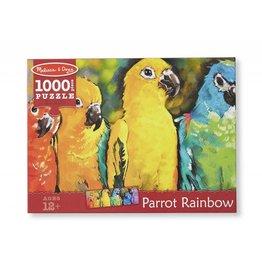Melissa & Doug Parrot Rainbow Puzzle