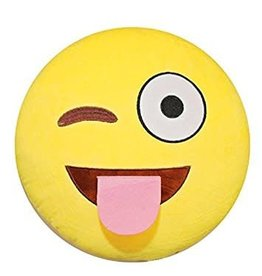 Kids Preferred Winky Face Emoji Pillow