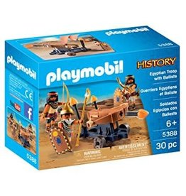 Playmobil Playmobil History - Egyptian Troop With Ballista