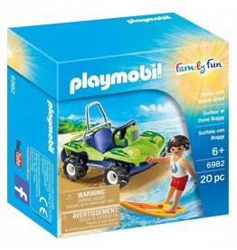 Playmobil Playmobil Family Fun Surfer with Beach Quad