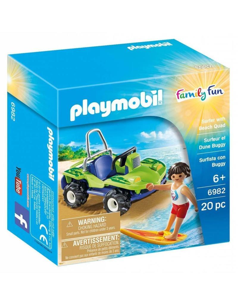 Playmobil Playmobil Family Fun Surfer with Beach Quad