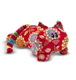 Melissa & Doug Toby Cat Stuffed Animal
