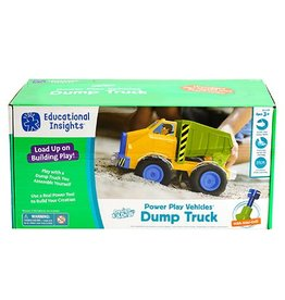 Educational Insights Design & Drill Power Play Vehicles Dump Truck