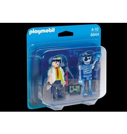 Playmobil Playmobil Scientist with Robot Duo Pack