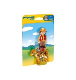 Playmobile Gamekeeper with Tiger