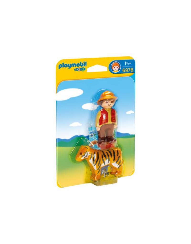 Playmobile Playmobil Gamekeeper with Tiger