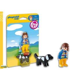 Playmobil Playmobil Woman with Dog